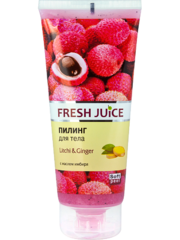 Пилинг для тела Fresh Juice Litchi & Ginger 200 мл